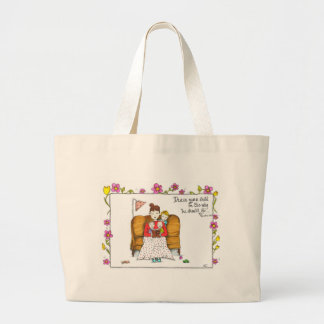 Train Up A Child Large Tote Bag