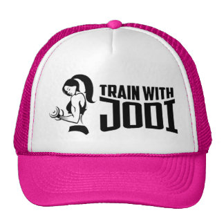 Train With Jodi Trucker Hat