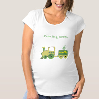 train with the months of pregnancy maternity T-Shirt