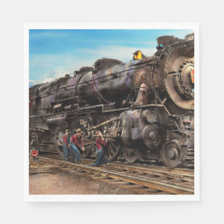 Train - Working on the railroad 1930 Disposable Napkins