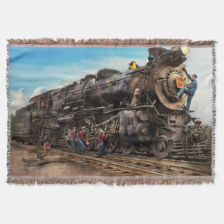 Train - Working on the railroad 1930 Throw