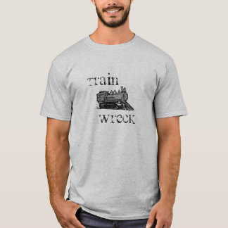 Train Wreck shirt