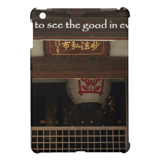 Train your mind to see the good in every situation cover for the iPad mini