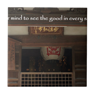 Train your mind to see the good in every situation tile