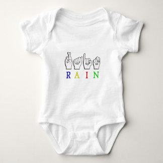 TRAINER  ASL FINGERSPELLED NAME SIGN BABY BODYSUIT