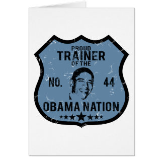 Trainer Obama Natino Card