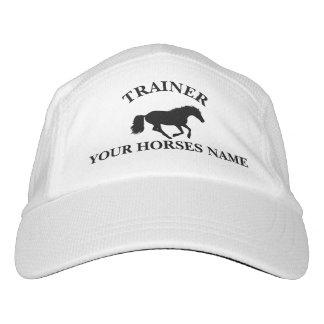 Trainer pony equestrian horse design hat