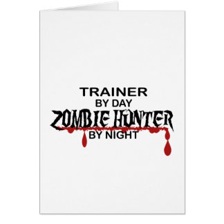 Trainer Zombie Hunter Card