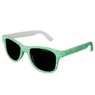 Traingles - Green (3) Sunglasses