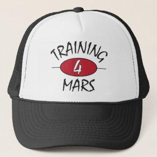 Training for Mars Trucker Hat
