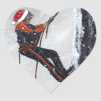 Training for the task ahead heart sticker