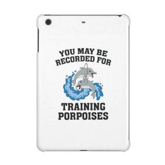 Training Porpoises iPad Mini Cases