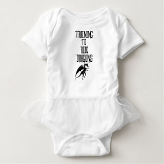 Training To Ride Dragons Baby Bodysuit