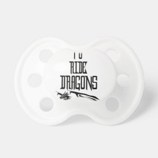 Training To Ride Dragons Baby Pacifier