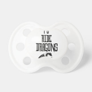 Training To Ride Dragons Baby Pacifiers