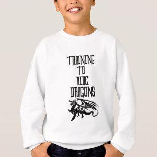 Training To Ride Dragons Sweatshirt