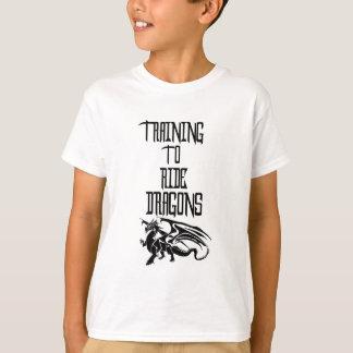 Training To Ride Dragons T-Shirt