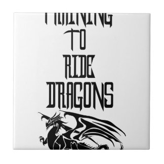 Training To Ride Dragons Tile