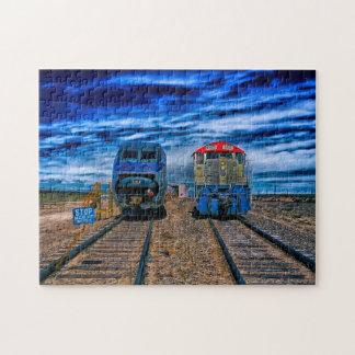 Trains and Locomotives  Colorado. Jigsaw Puzzle