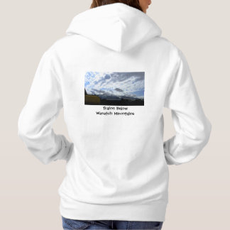 Trains Below Wasatch Hoodie