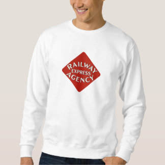 Trains Can Send Your Bags ahead by Railway Express Sweatshirt