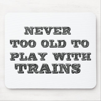 Trains Mouse Pad