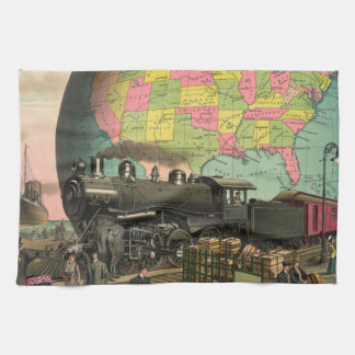 Trains, Planes & Everything Else Kitchen Towel