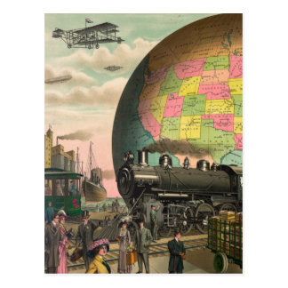 Trains, Planes & Everything Else Postcard