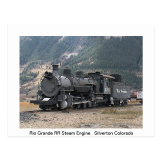 Trains Post Card
