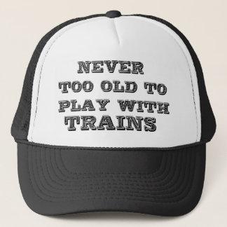 Trains Trucker Hat