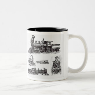 Trains - Two Tone Mug
