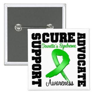 Traitement d avocat de soutien de syndrome de la T Badges Avec Agrafe