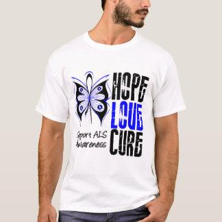 Traitement d'amour d'espoir de conscience de SAL T-shirt