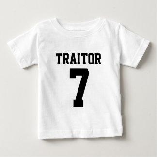 Traitor 7 Football Jersey Style Baby T-Shirt