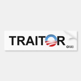 Traitor Bumper Sticker