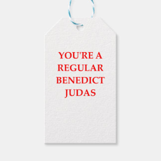 traitor gift tags