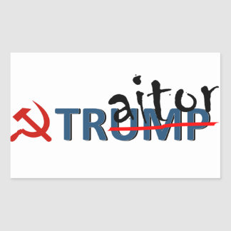 Traitor Trump sticker