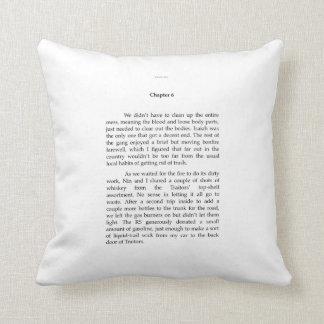TRAITORS EXCERPT throw pillow