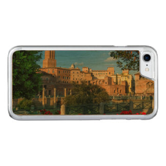 Trajan's forum, Traiani, Roma, Italy Carved iPhone 8/7 Case