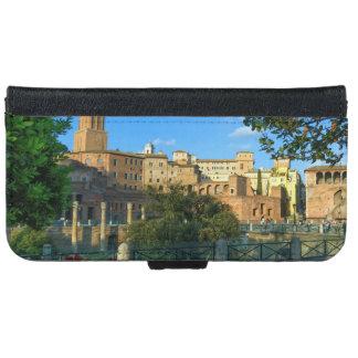 Trajan's forum, Traiani, Roma, Italy iPhone 6 Wallet Case
