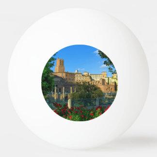 Trajan's forum, Traiani, Roma, Italy Ping Pong Ball