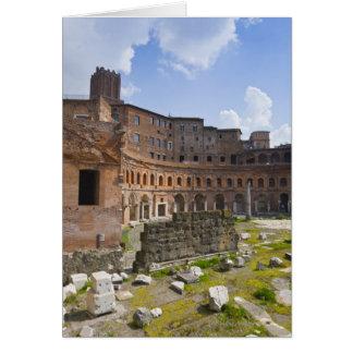 Trajan's Market (Latin: Mercatus Traiani, Card