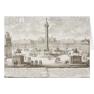 Trajan's Square Rome, from 'Entwurf einer historis Card