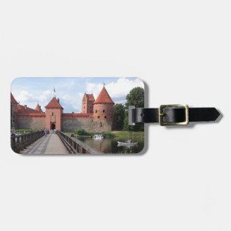 Trakai Island Castle - LITHUANIA --- Luggage Tag