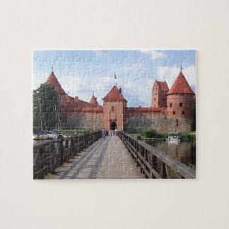 Trakai Island Castle - Lithuania --- Puzzle
