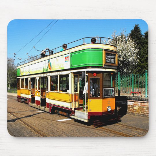 Tram at Colyton station Mouse Pad