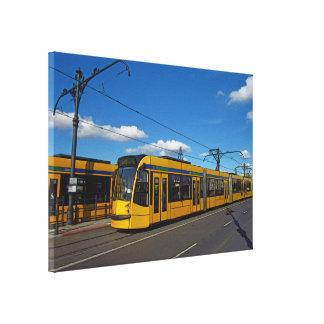 Tram Canvas Print
