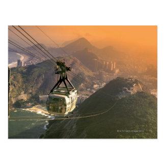 Tram in Rio de Janeiro, Brazil Postcard