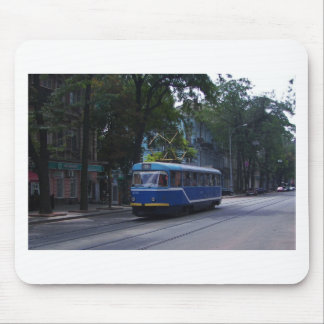 Tram In The Ukraine Mouse Pad