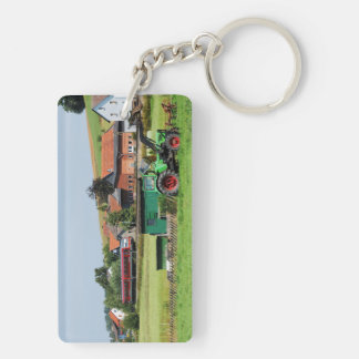 Tramcar in death living keychain
